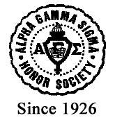 Alpha Gamma Sigma Logo