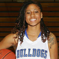 Erica Hayes, #24, Sophomore Guard