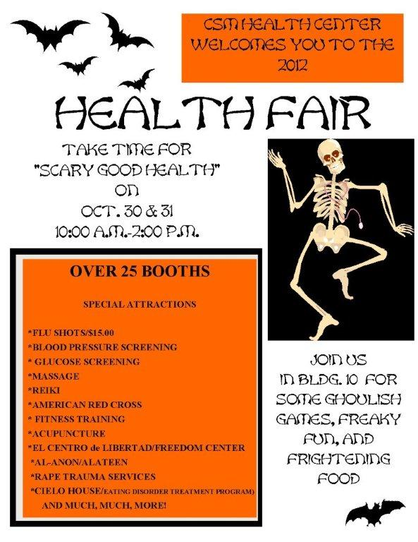 Fall Health Fair 2012
