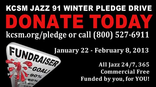 KCSM Jazz 91 Winter Pledge Drive