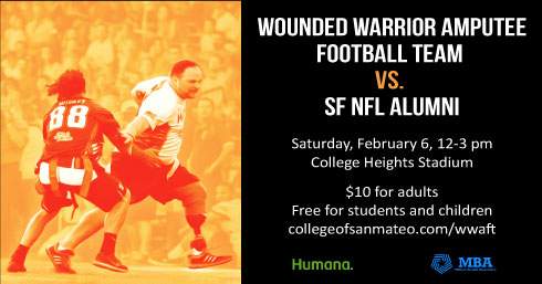 Wounded Warrior Amputee Football Team's (WWAFT)