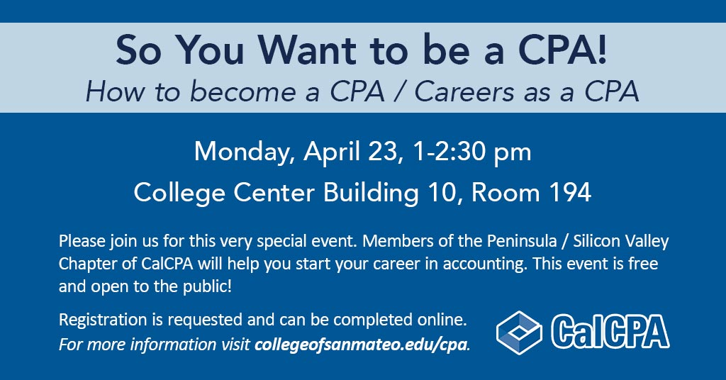 So You Want to be a CPA!