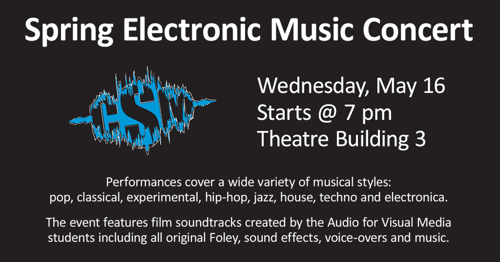 Spring Electronic Music Concert