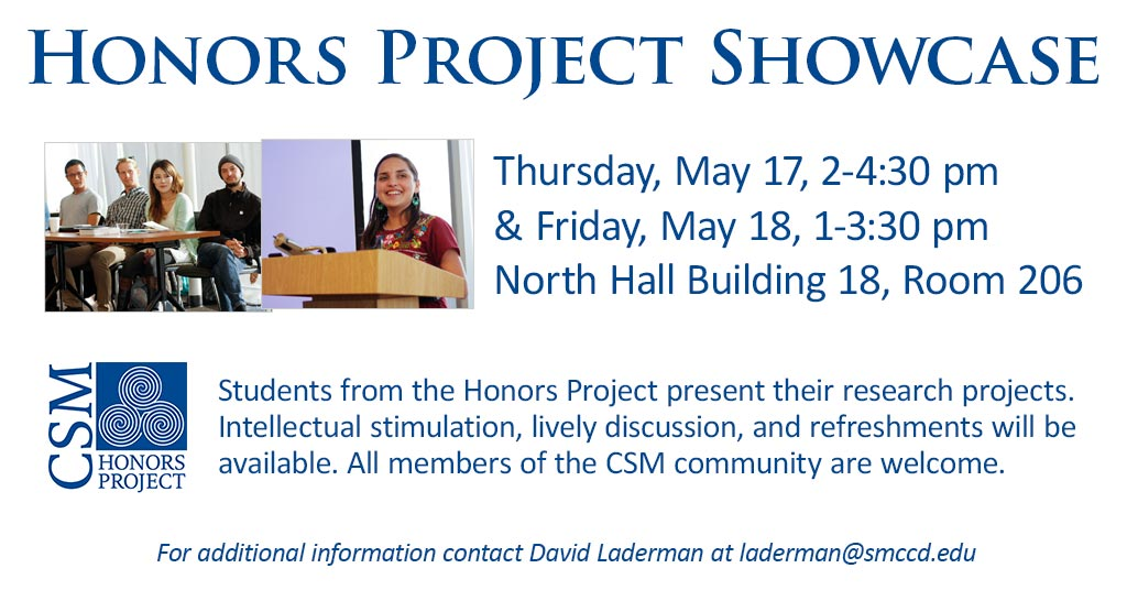 Honors Project Showcase
