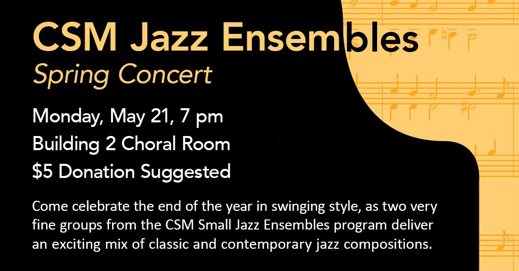 Small Jazz Ensembles Spring Concert