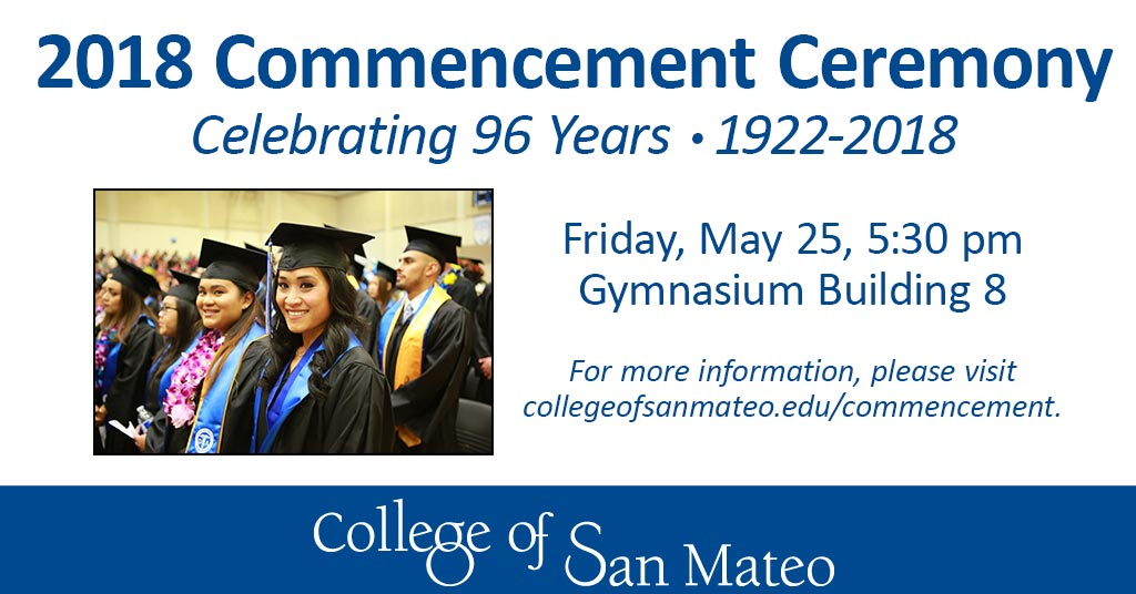 2018 Commencement Ceremony digital sign