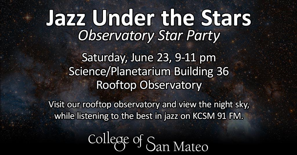 Jazz Under The Stars for June 23