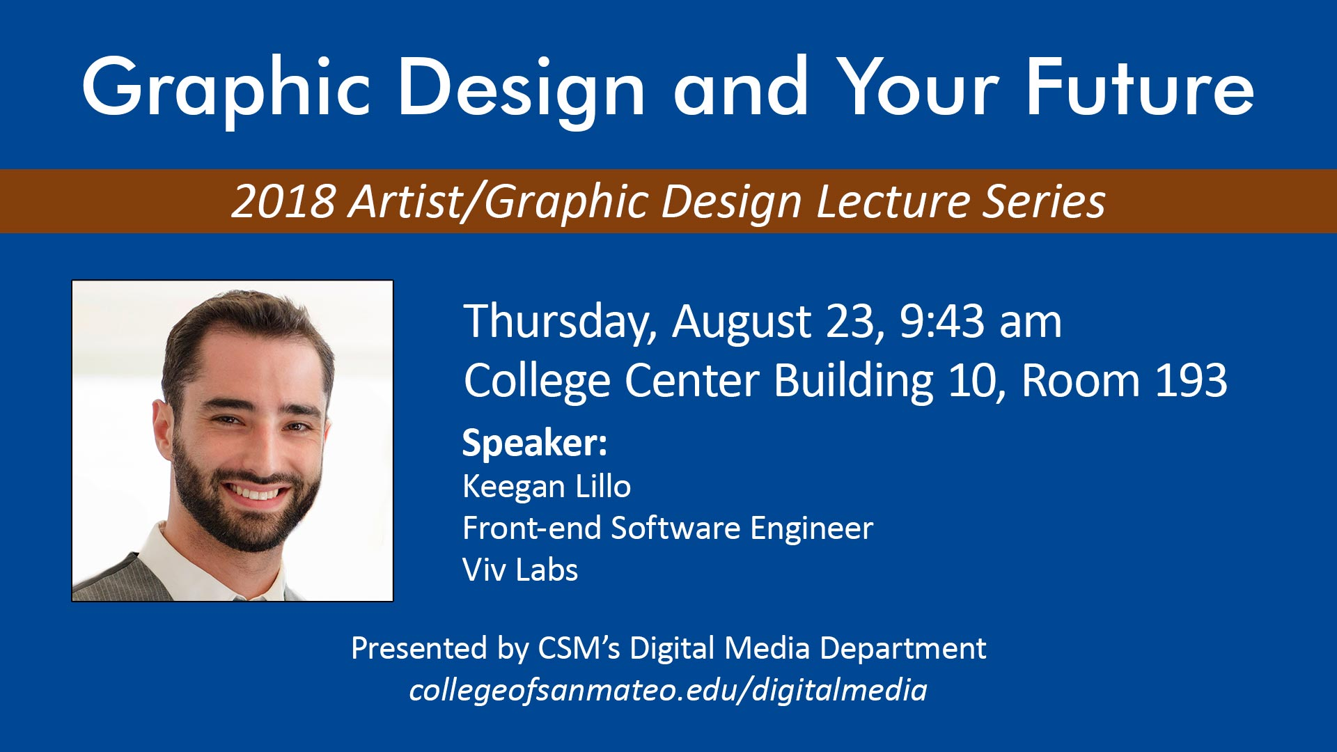 Artist/Graphic Design Lecture Series