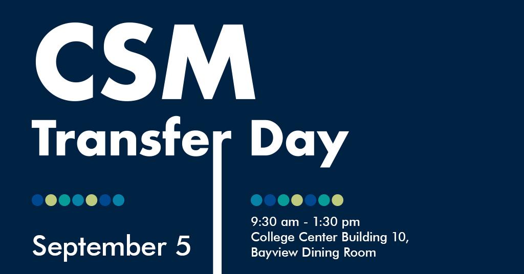 CSM Transfer Day - September 5, 2018