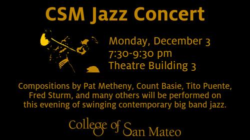 CSM Jazz Concert