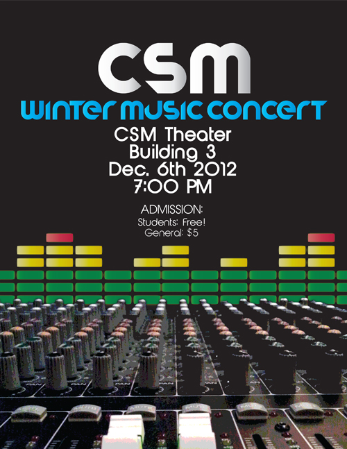 Fall 2012 Electronic Music Concert
