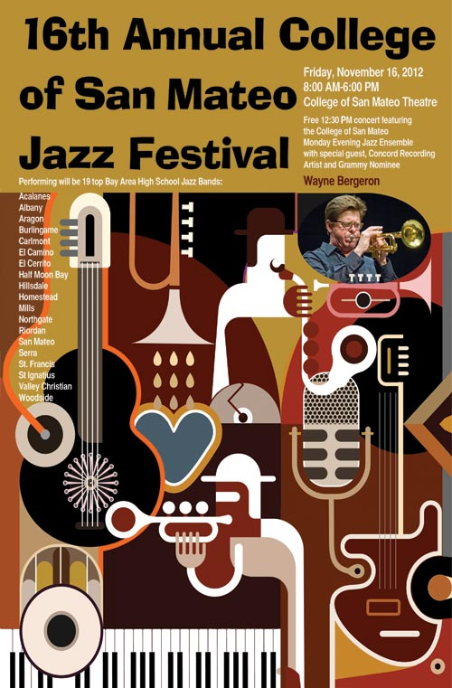 16th Annual College of San Mateo Jazz Festival