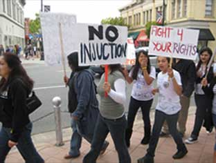 Oakland Gang Injunction Student Movement