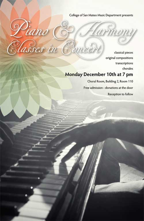 Piano & Harmony Department Concert 2012