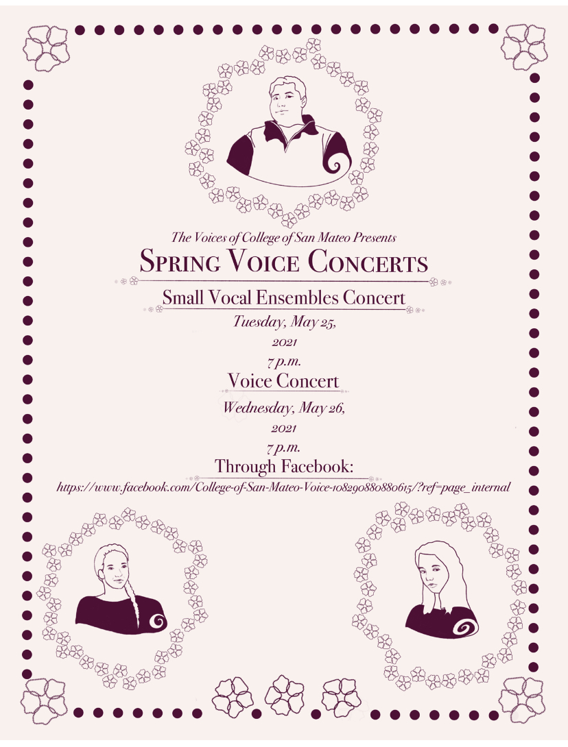 Spring Voice Concerts 2021