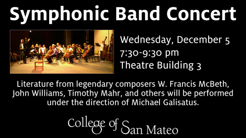 CSM Symphonic Band Concert