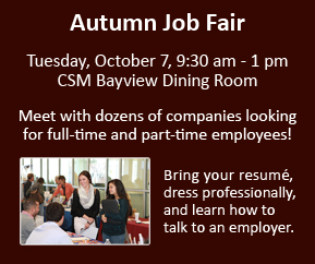 Autumn Job Fair