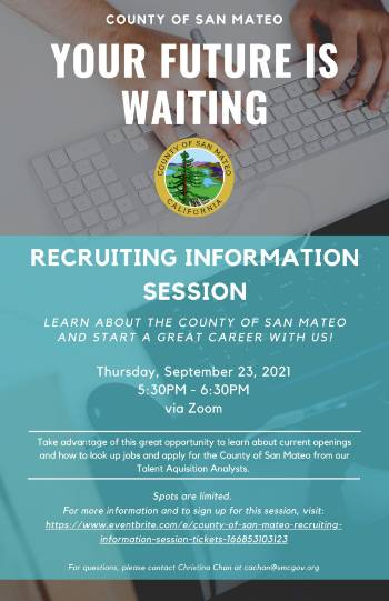 County of San Mateo recruiting session