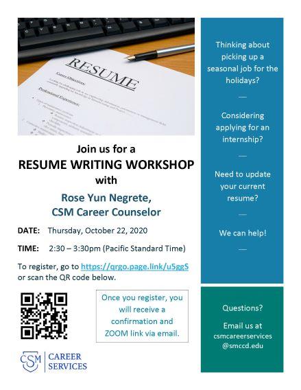 resumeworkshop