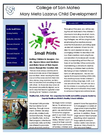 Small Prints Fall 2015