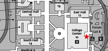 Map - Campus Copy & Post Location