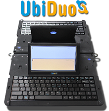 Ubi-Duo electric communication device