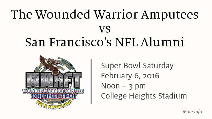 Wounded Warrior Amputees vs. NFL Alumni - A Game of Honor