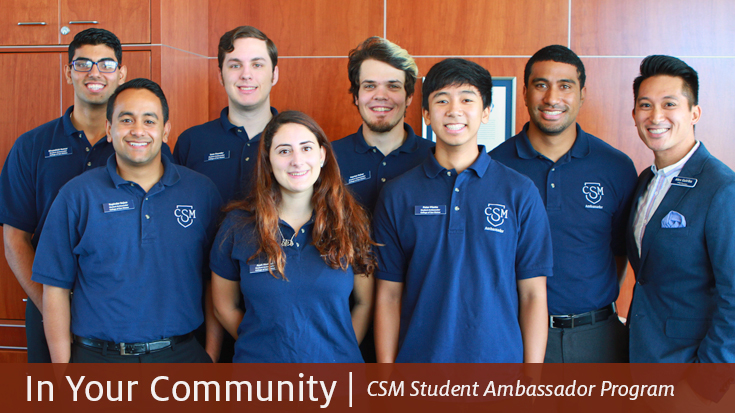 In Your Community - CSM Student Ambassador Program