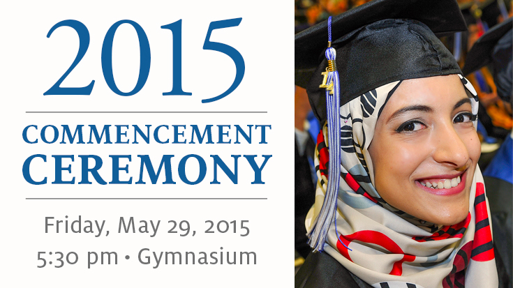 2015 Commencement Ceremony