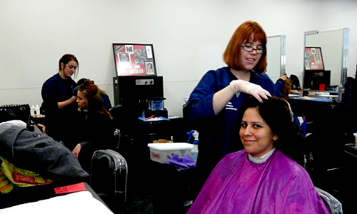Complimentary Cosmetology Services Day