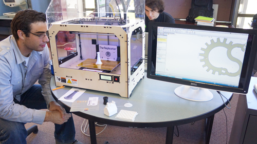 Makerbot 3D Printer and Project Kits