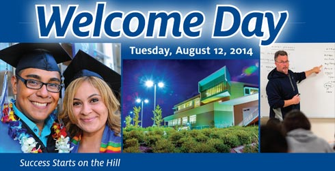 Welcome Day 2014