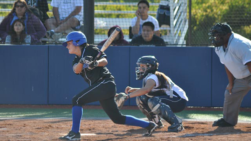 CSM Softball vs. Sierra College