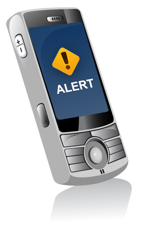 cell phAlertU - Emergency Text Message Notificationone