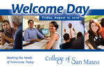 Welcome Day Postcard