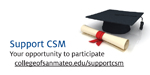 Support CSM Table Card