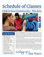 CSM Fall 2014 Schedule of Classes