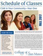 CSM Fall 2017 Schedule of Classes