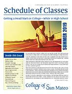 CSM Schedule of Classes - Summer 2019
