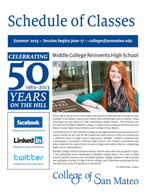 CSM Summer 2013 Schedule of Classes