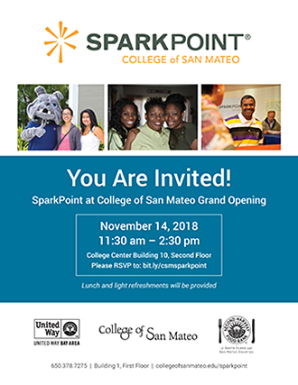 SparkPoint at College of San Mateo Grand Opening
