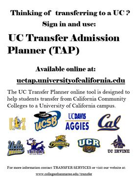 UC TAP Flier