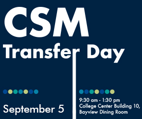 CSM Transfer Day